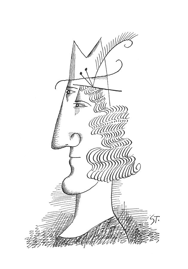 New Yorker March 30th, 1963 Drawing by Saul Steinberg