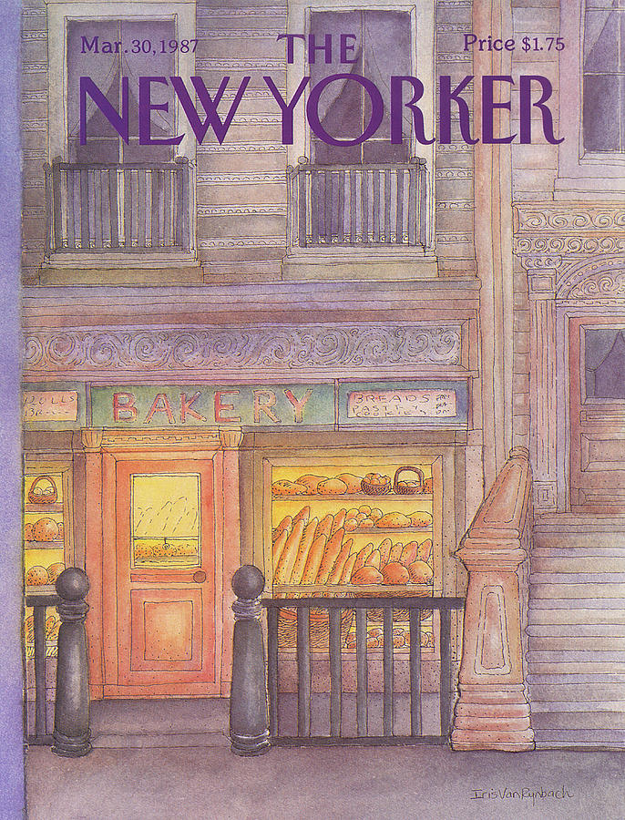 New Yorker March 30th, 1987 Painting by Iris VanRynbach