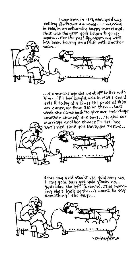 New Yorker March 31st, 1975 Drawing by Lou Myers