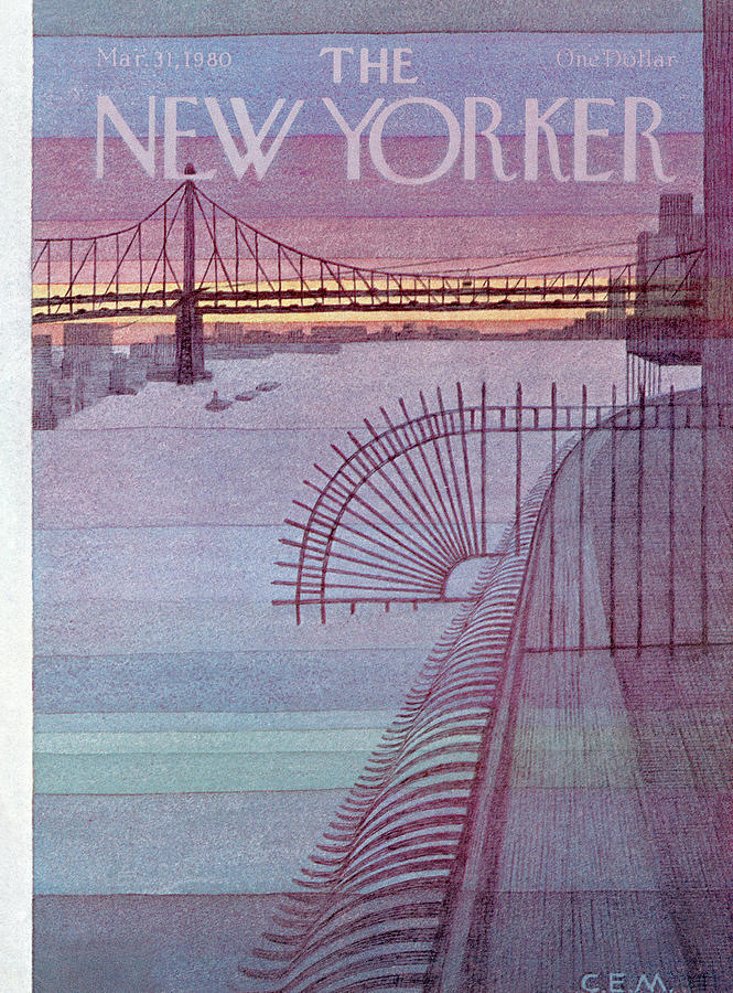 New Yorker March 31st, 1980 Painting by Charles E Martin