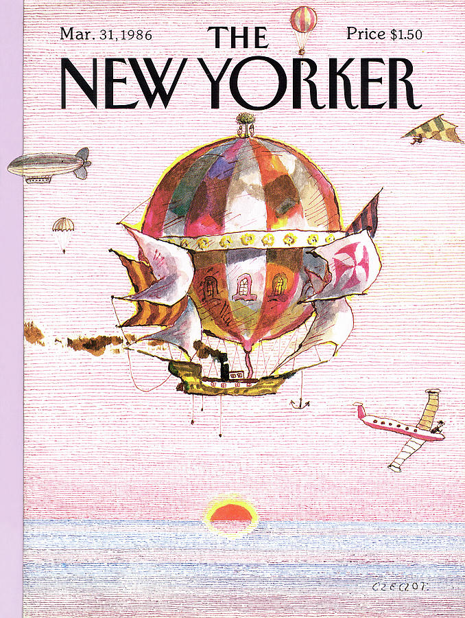 New Yorker March 31st, 1986 Painting by Andrej Czeczot