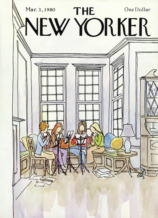 New Yorker March 3rd, 1980 Painting by Arthur Getz