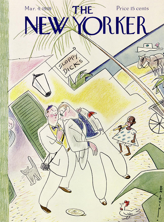 New Yorker March 4 1939 Painting by Rea Irvin