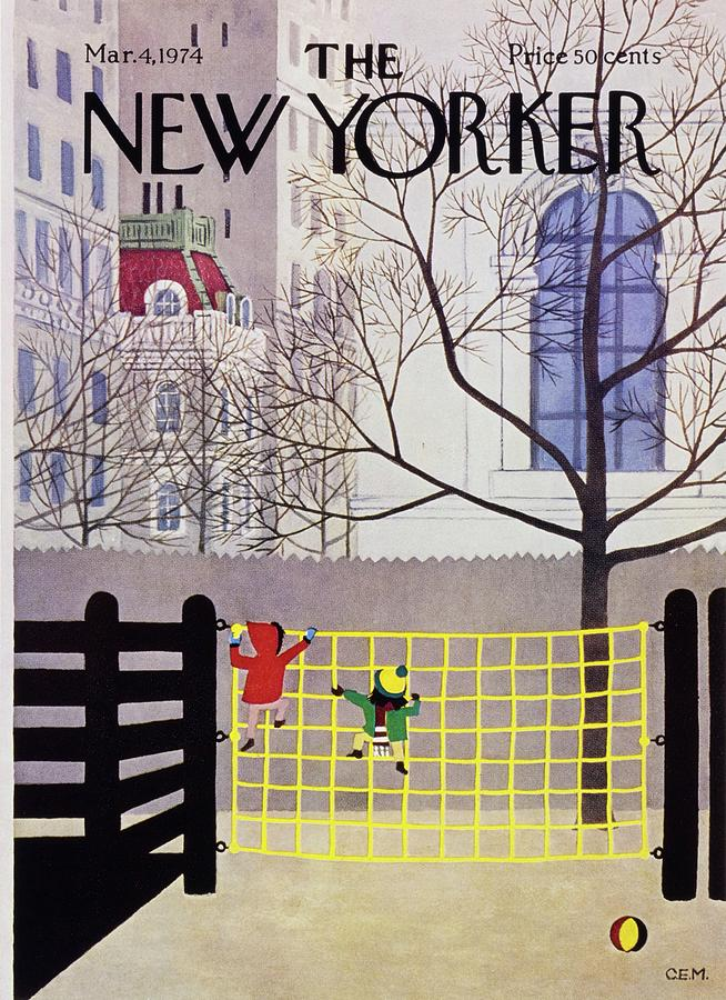 New Yorker March 4th 1974 Painting by Charles Martin