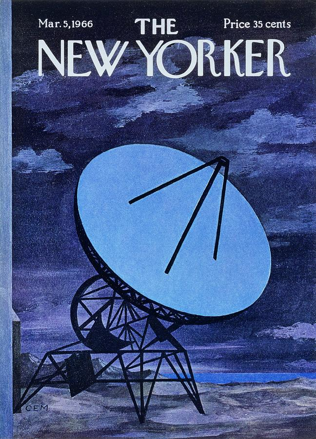New Yorker March 5th 1966 Painting by Charles E Martin