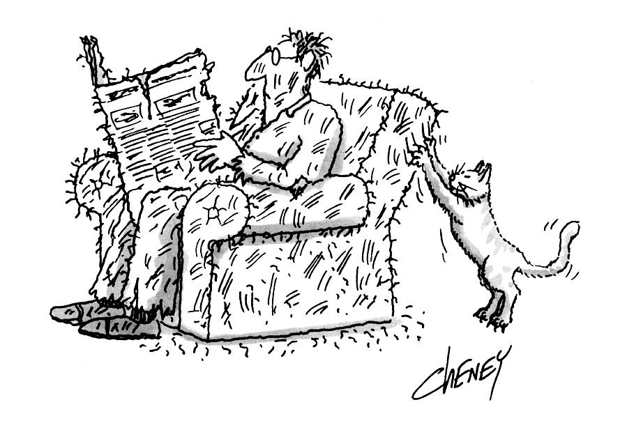 New Yorker March 5th, 1984 Drawing by Tom Cheney