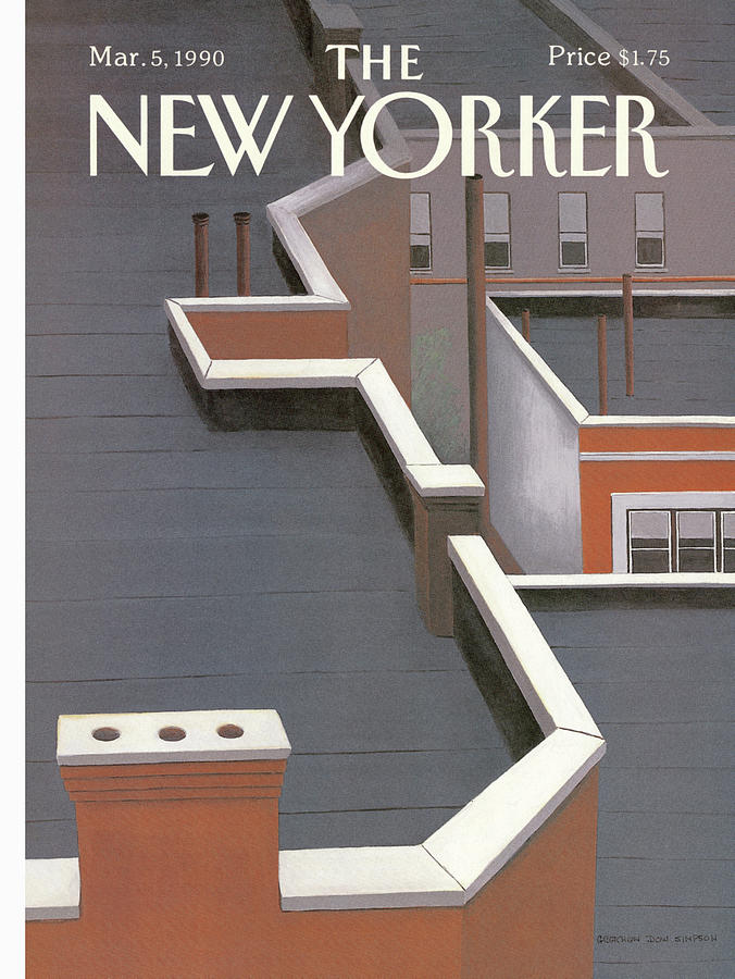 New Yorker March 5th, 1990 Painting by Gretchen Dow Simpson