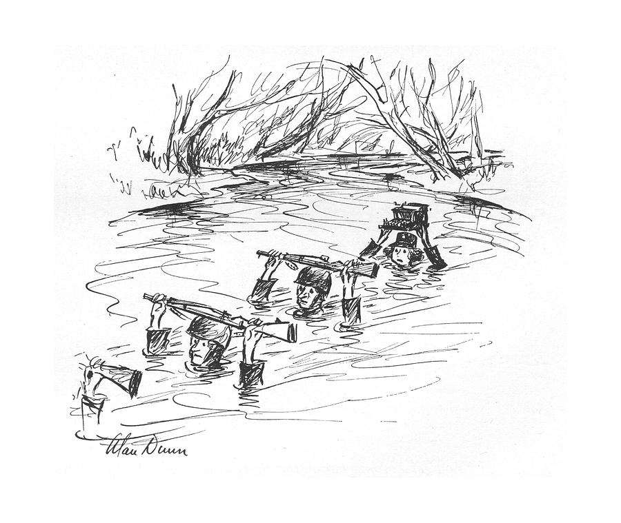 New Yorker March 6th, 1943 Drawing by Alan Dunn