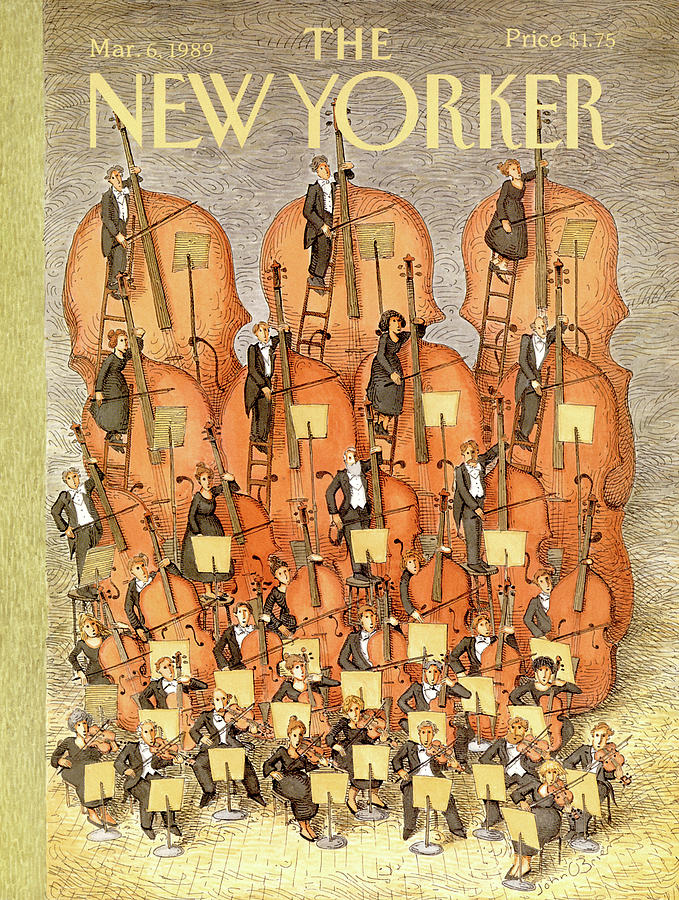 New Yorker March 6th, 1989 Painting by John OBrien