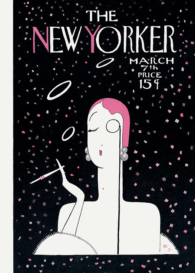 New Yorker March 7th, 1925 Painting by Rea Irvin