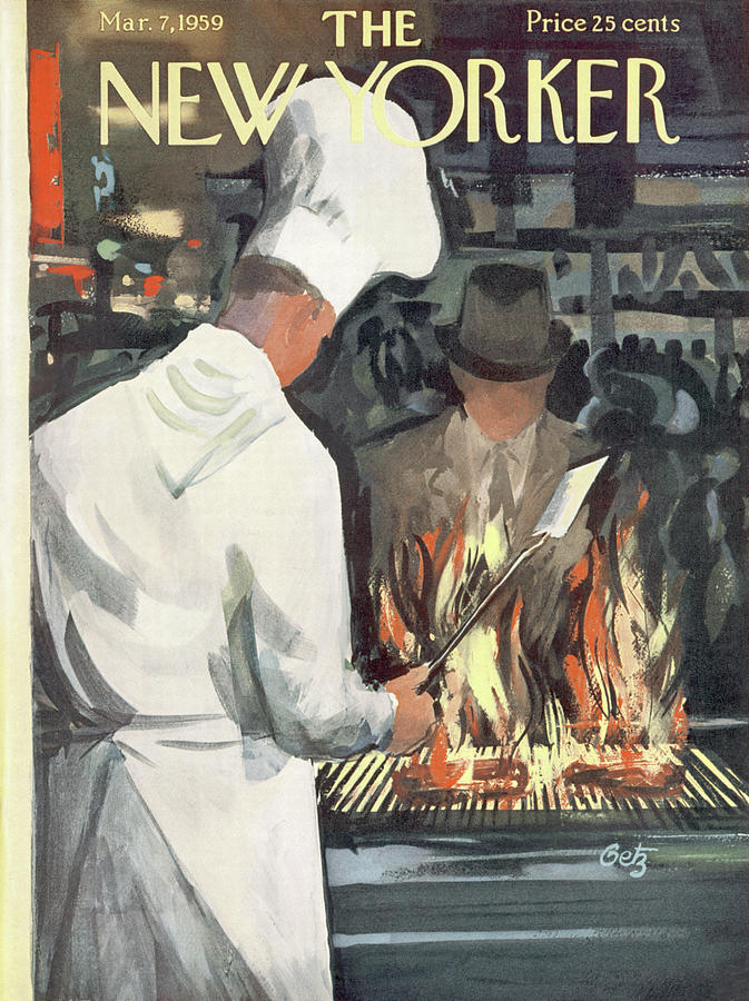 New Yorker March 7th, 1959 Painting by Arthur Getz