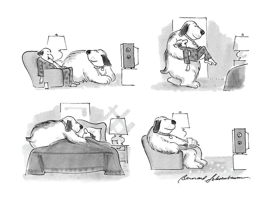 New Yorker March 7th, 1988 Drawing by Bernard Schoenbaum