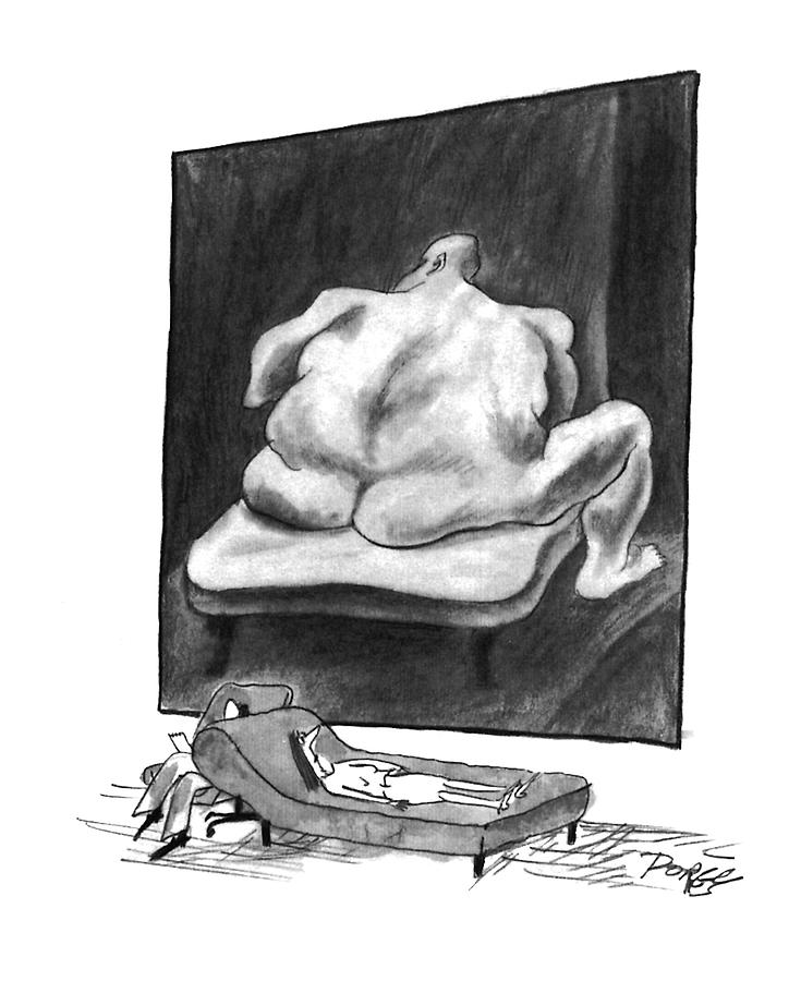 New Yorker March 7th, 1994 Drawing by Peter Porges