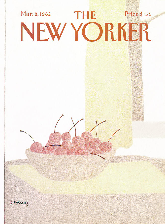 New Yorker March 8th, 1982 Painting by Devera Ehrenberg