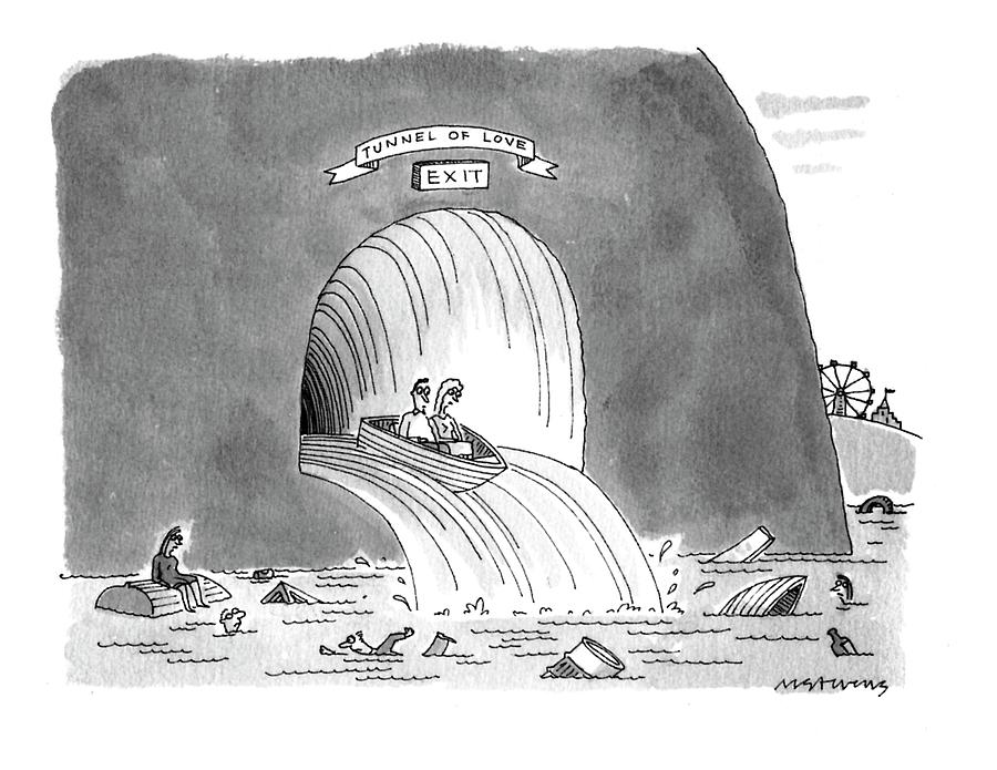 New Yorker March 8th, 1993 Drawing by Mick Stevens