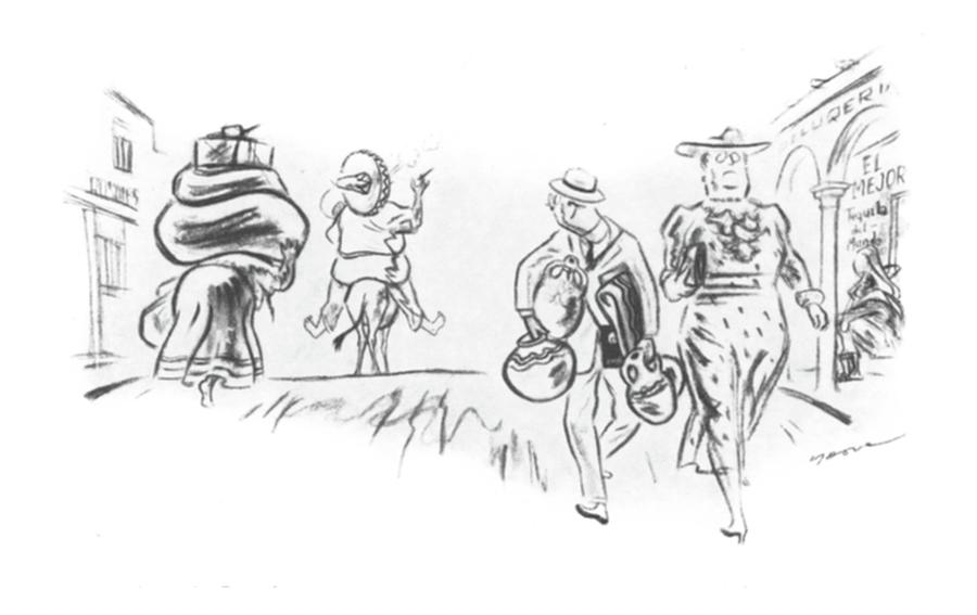 New Yorker March 9th, 1940 Drawing by Leonard Dove