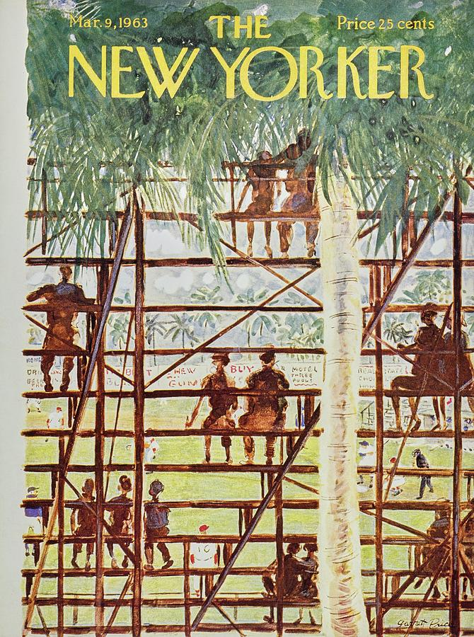 New Yorker March 9th 1963 Painting by Garrett Price