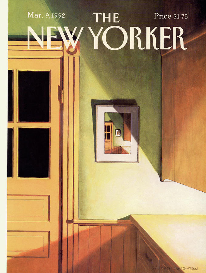 New Yorker March 9th, 1992 Painting by Gretchen Dow Simpson