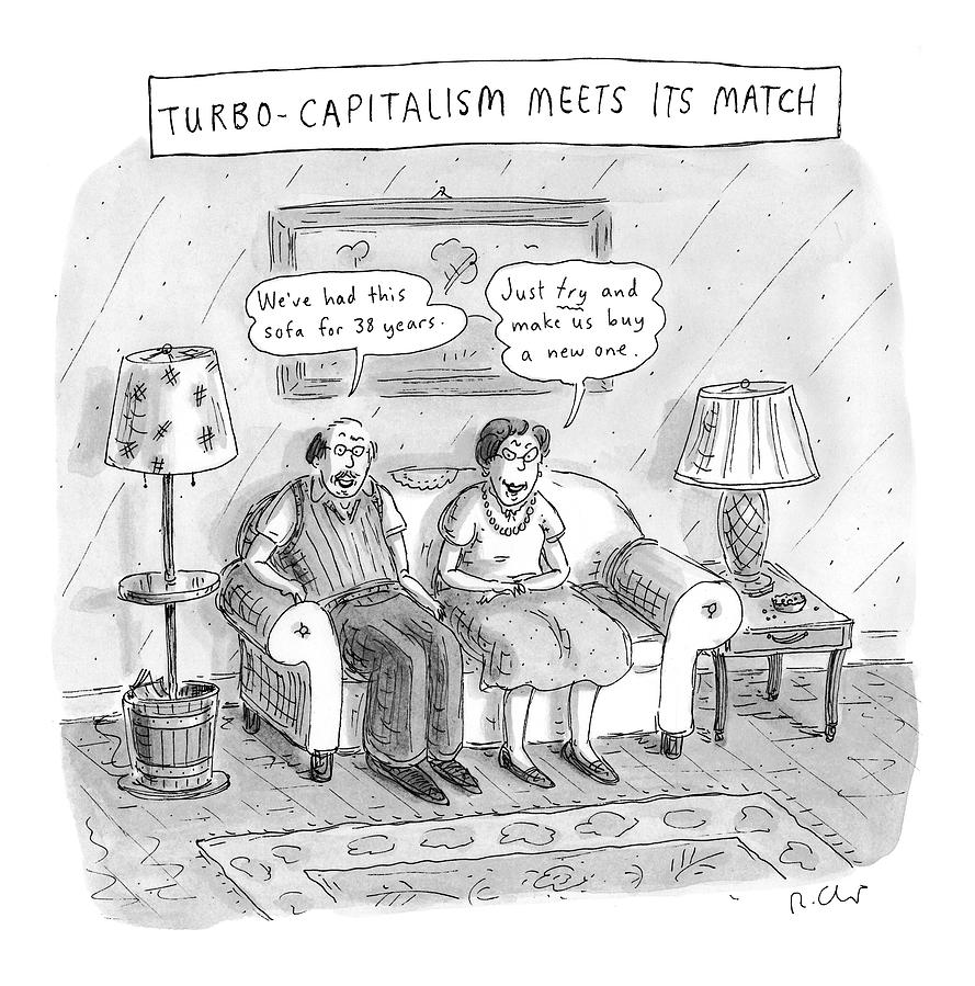 New Yorker May 10th, 1999 Drawing by Roz Chast