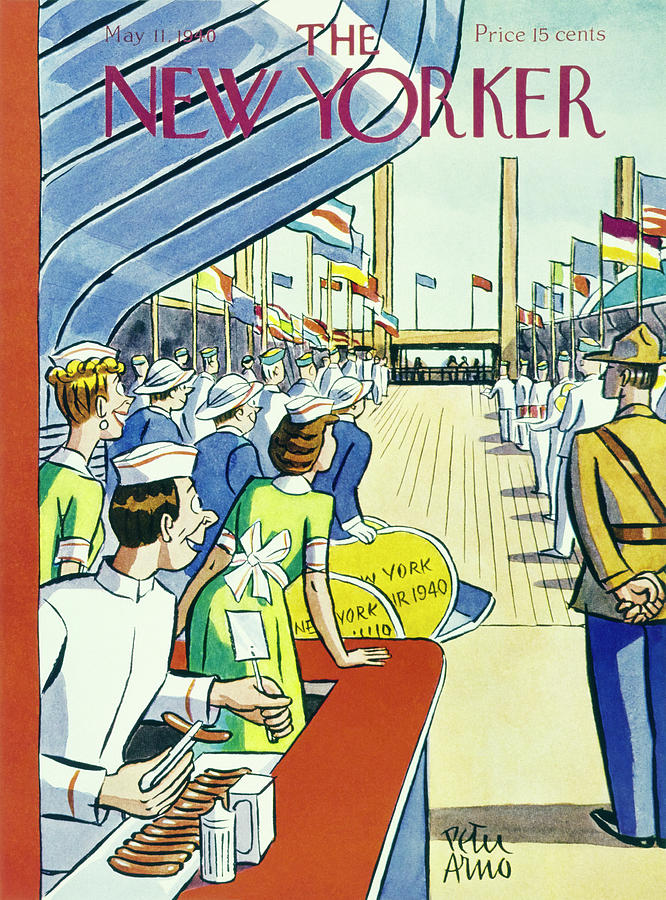 New Yorker May 11 1940 Painting by Peter Arno