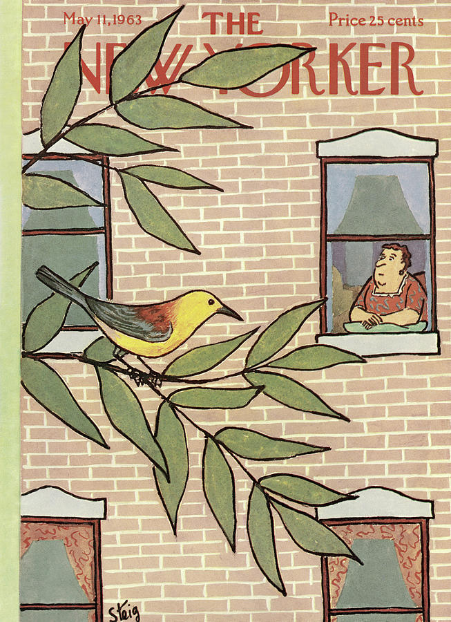 New Yorker May 11th, 1963 Painting by William Steig