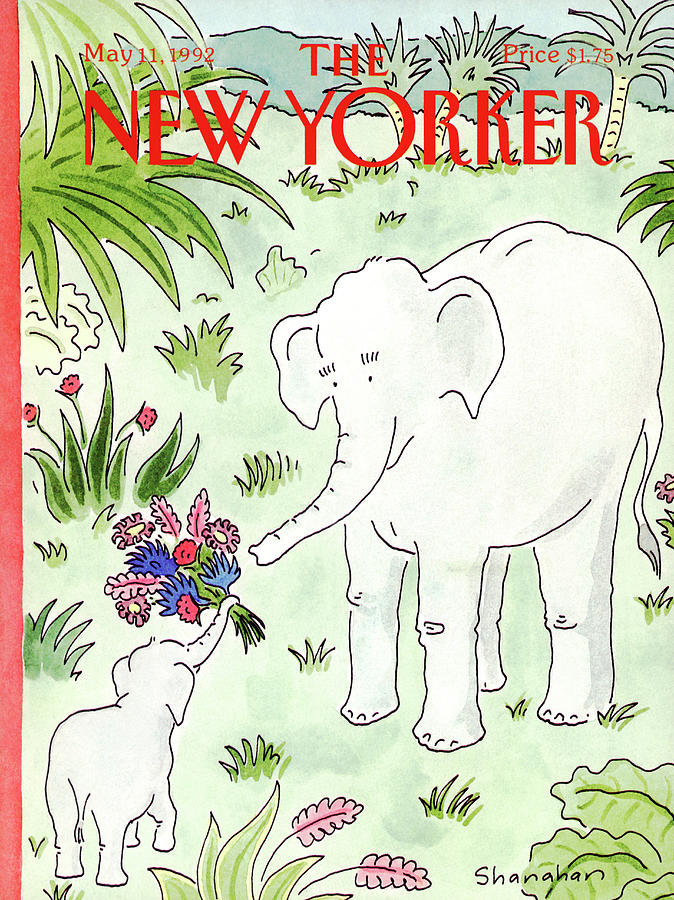 Animals Painting - New Yorker May 11th, 1992 by Danny Shanahan