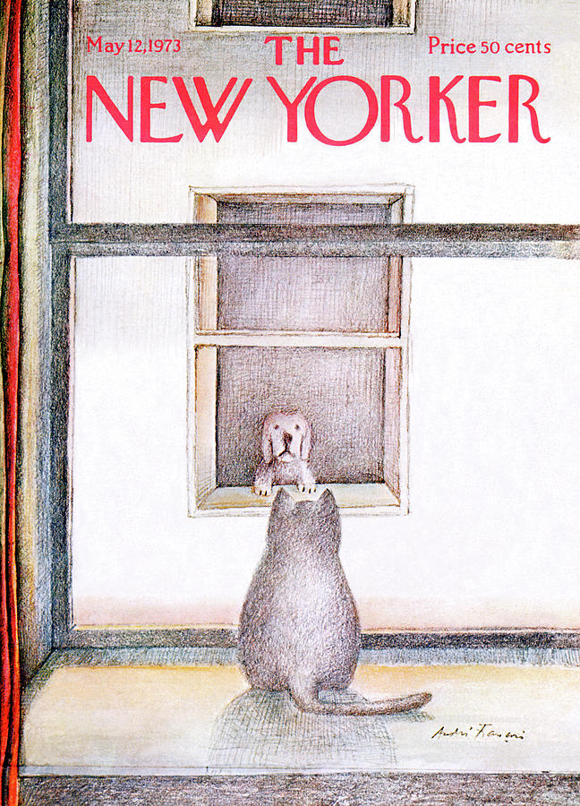 New Yorker May 12th, 1973 Painting by Andre Francois
