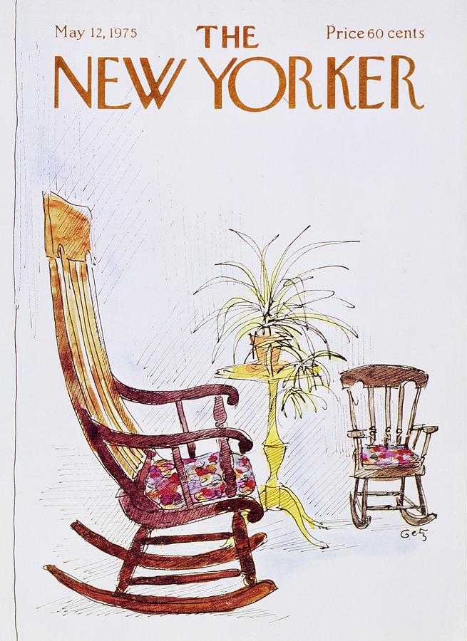 New Yorker May 12th 1975 Painting by Arthur Getz