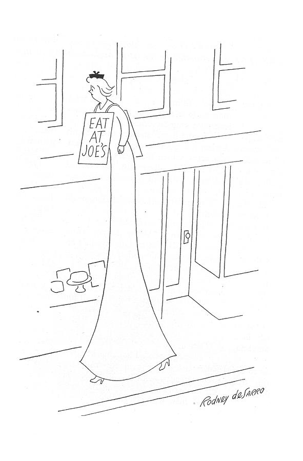 New Yorker May 13th, 1944 Drawing by Rodney de Sarro