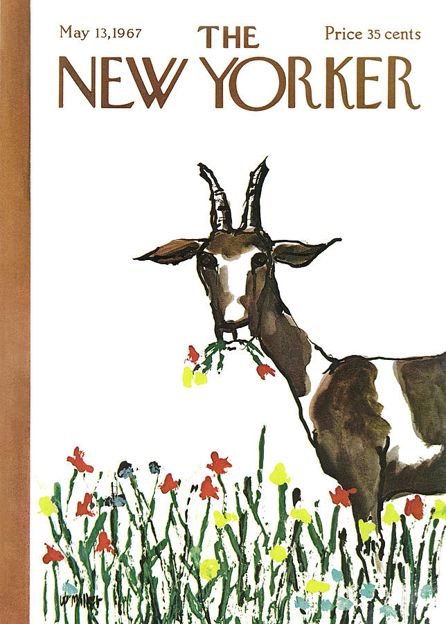 New Yorker May 13th, 1967 Painting by Warren Miller