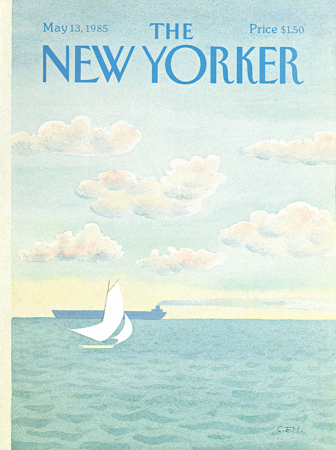 New Yorker May 13th, 1985 Painting by Charles E Martin