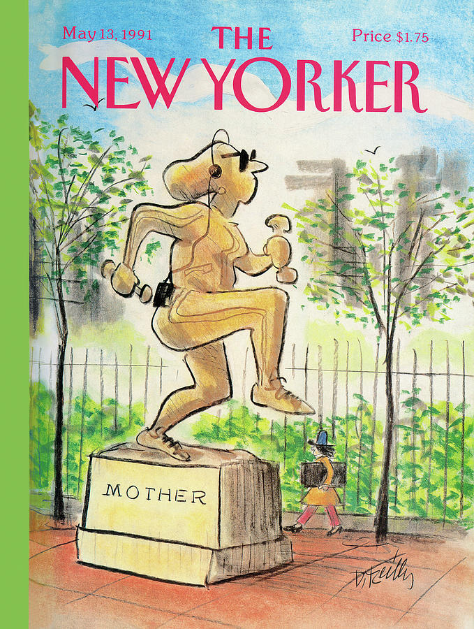 New Yorker May 13th, 1991 Painting by Donald Reilly