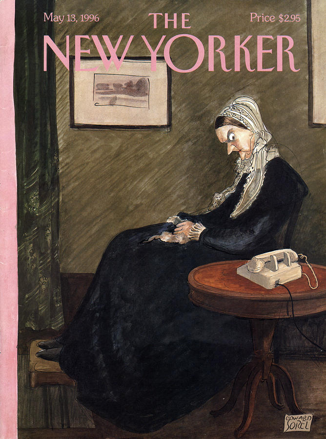 New Yorker May 13th, 1996 Painting by Edward Sorel
