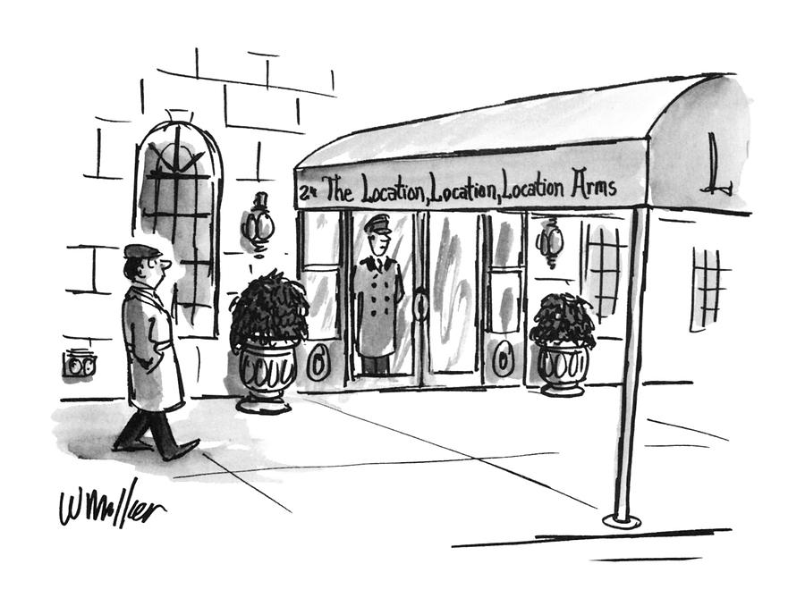 New Yorker May 13th, 1996 Drawing by Warren Miller