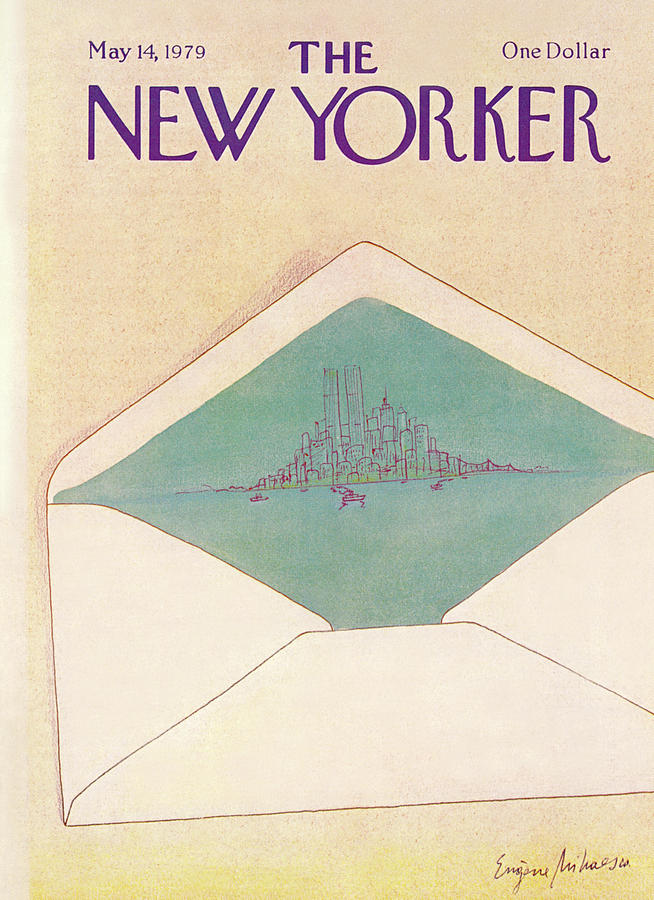 New Yorker May 14th, 1979 Painting by Eugene Mihaesco