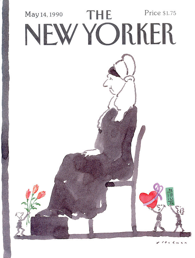 New Yorker May 14th, 1990 Painting by RO Blechman