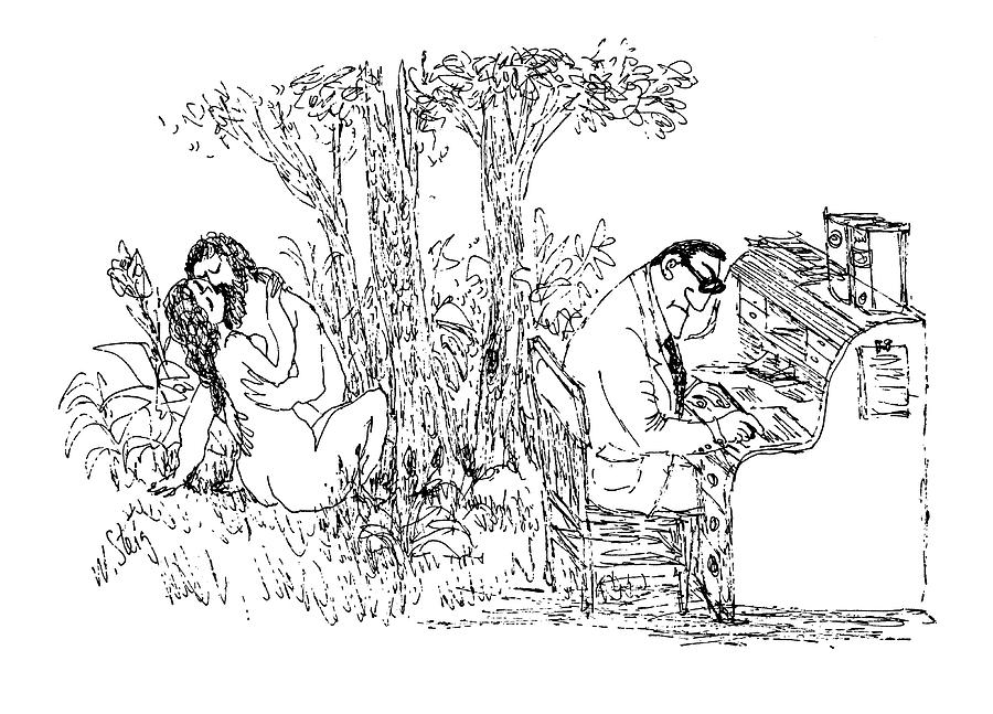 New Yorker May 15th, 1971 Drawing by William Steig