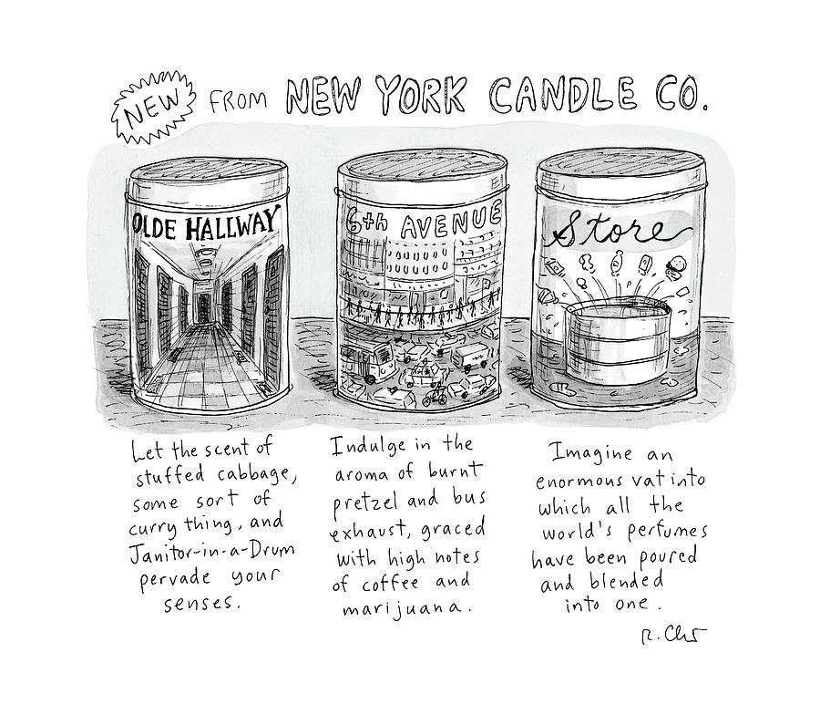 New Yorker May 15th, 2017 Drawing by Roz Chast