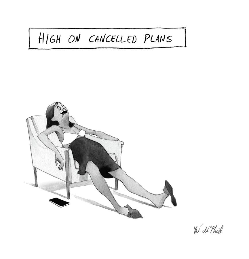 High Drawing - New Yorker May 15th, 2017 by Will McPhail