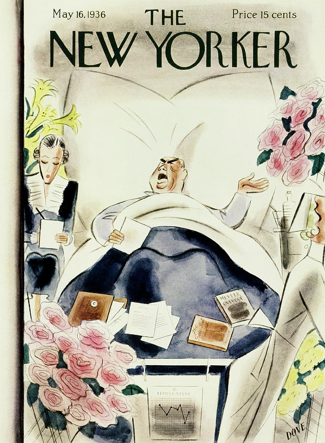 New Yorker May 16 1936 Painting by Leonard Dove