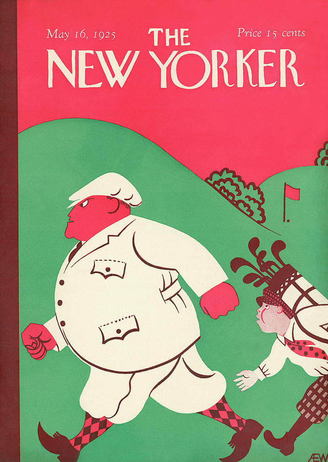 New Yorker May 16th, 1925 Painting by AE Wilson
