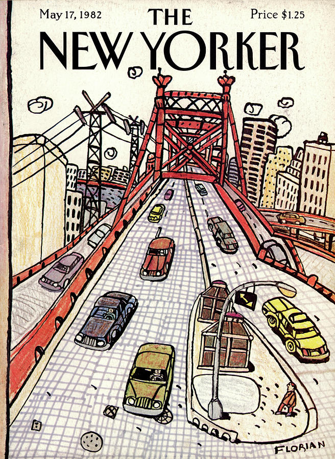New Yorker May 17th, 1982 Painting by Douglas Florian
