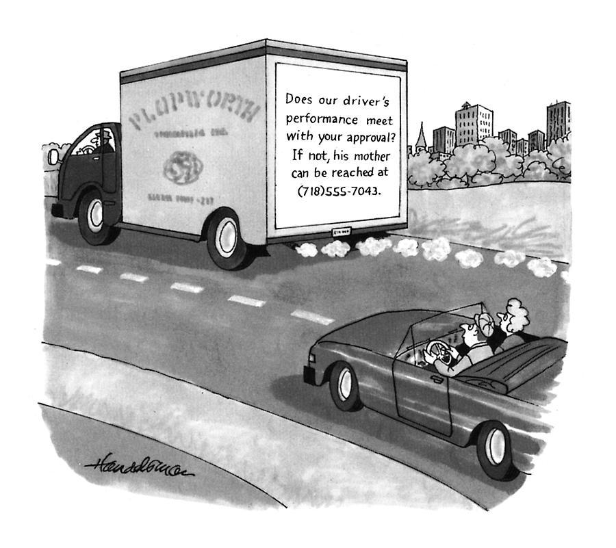 New Yorker May 17th, 1993 Drawing by J.B. Handelsman