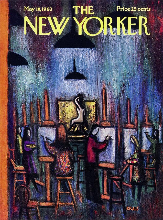 New Yorker May 18th 1963 Painting by Robert Kraus