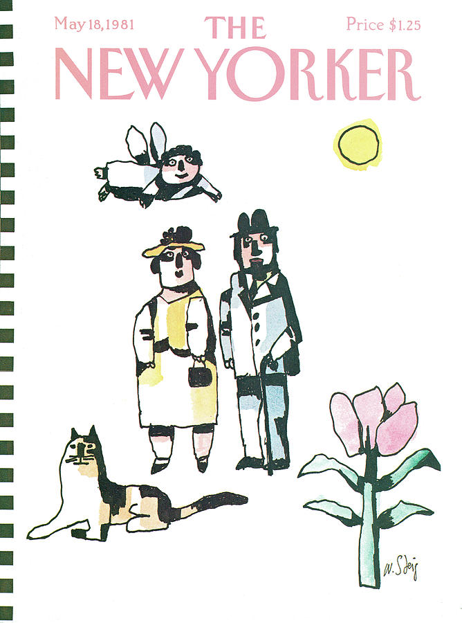 New Yorker May 18th, 1981 Painting by William Steig