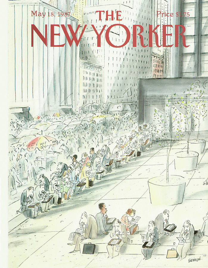 New Yorker May 18th, 1987 Painting by Jean-Jacques Sempe