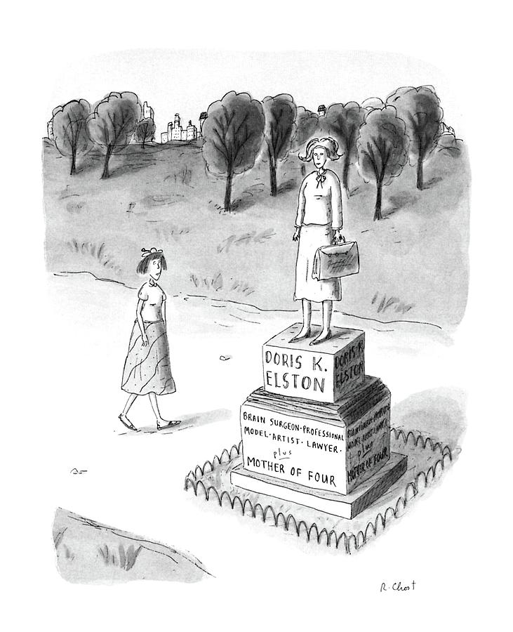 New Yorker May 18th, 1987 Drawing by Roz Chast