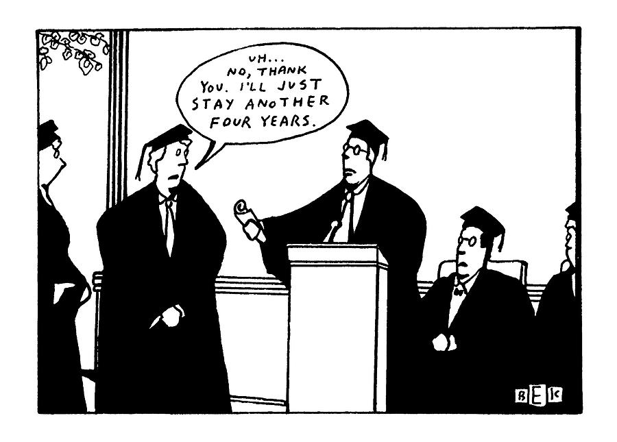 New Yorker May 18th, 1992 Drawing by Bruce Eric Kaplan