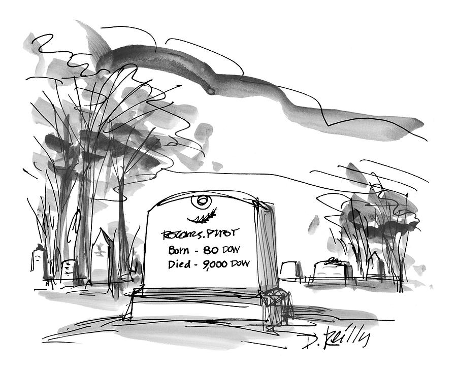 New Yorker May 18th, 1998 Drawing by Donald Reilly