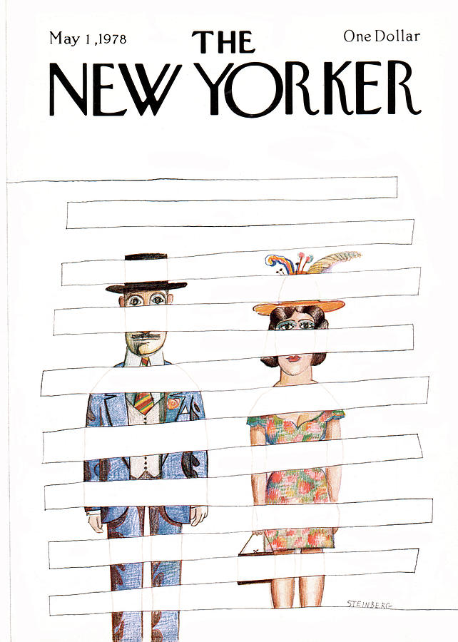 New Yorker May 1st, 1978 Painting by Saul Steinberg